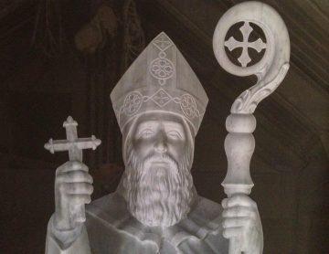 St. Abda - Marble - NDU Deir el Qamar